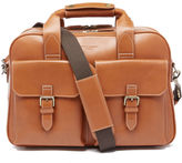 Aspinal of London Men's Harrison Overnight Business Bag Tan