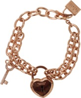 Rebecca Large Lock And Key Bracelet