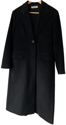 Our Legacy Black Wool Coat for Women
