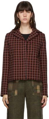 Marni Multicolor Plaid Jacket