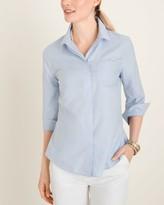No Iron Cotton Pocket-Detail Shirt