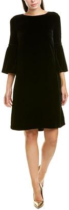 Lafayette 148 New York Roslin Silk-Blend Shift Dress
