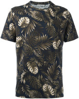 Vince leaves print T-shirt - men - Supima Cotton - M