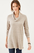 J. Jill Ultrasoft Cowl-Neck Tunic Sweater
