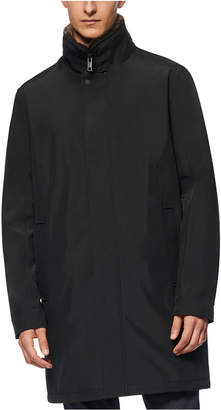 Andrew Marc Men Glynn Topper with Removable Faux Fur Collar
