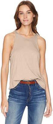 Enza Costa Women's Cropped Sheath Tank Top