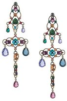 Lanvin long 'Ginger' line earrings