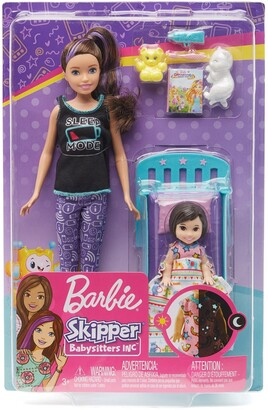 Mattel Bedtime Playset with Skipper Doll, Toddler Doll and More