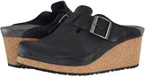 Birkenstock Fanny by Papillio (Taupe Suede) Women's Clog Shoes