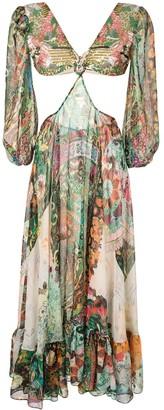 Alexis Charisse floral print dress