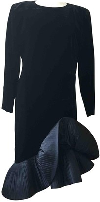 Pierre Cardin Black Cotton Dress for Women Vintage