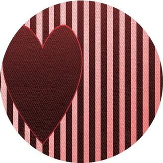 East Urban Home Midori Wool Red/Pink Area Rug Rug Size: Rectangle 2' x 4'