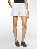 Calvin Klein Performance Commuter Ribbed Waist Shorts