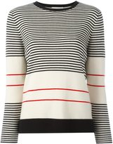 Chinti and Parker fine stripe sweater