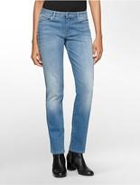 Calvin Klein Straight Leg Light Blue Wash Jeans