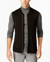 Calvin Klein Men's Zip-Front Sweater Vest