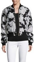 Drifter Illustrious Floral Jacquard Reversible Bomber Jacket