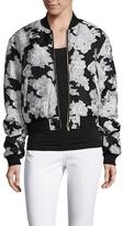 Drifter Illustrious Floral Jacquard Reversible Bomber Jacket
