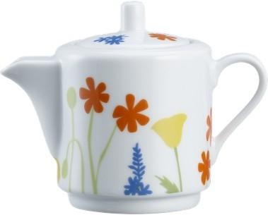 Crate & Barrel Flora Teapot