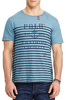 Polo Ralph Lauren Big & Tall Striped Graphic Short-Sleeve Tee