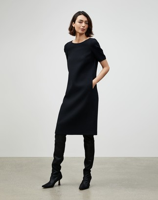 Lafayette 148 New York Petite Nouveau Crepe Milena Shift Dress