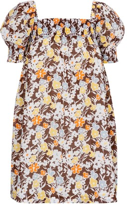 Tory Burch Floral cotton minidress