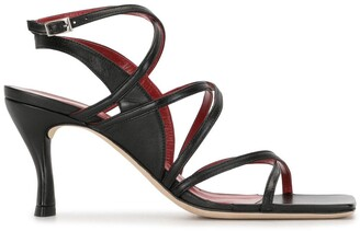 BY FAR Christina open-toe sandals