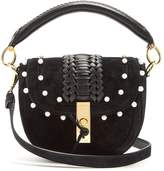 Altuzarra Ghianda mini braided-leather suede shoulder bag