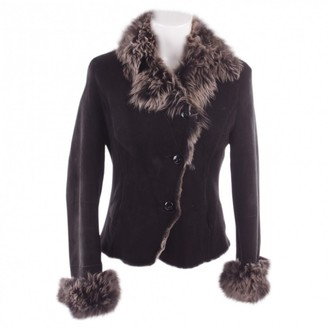 N. Non Signé / Unsigned Non Signe / Unsigned \N Black Shearling Jackets