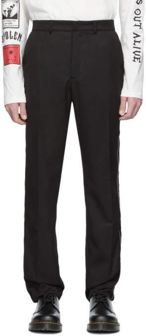 Stolen Girlfriends Club Black Lithium Suit Trousers