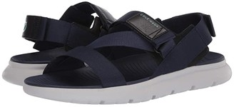 Cole Haan Zerogrand MVR Sandal (Marine Blue/Birch) Men's Shoes