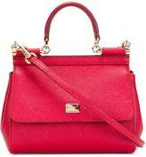 Dolce & Gabbana mini 'Sicily' tote - women - Calf Leather - One Size