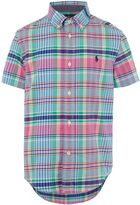 Polo Ralph Lauren Boys Short Sleeve Checked Shirt