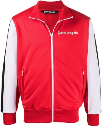 Palm Angels Zip-Front Track Jacket