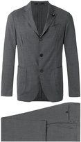 Lardini formal suit - men - Spandex/Elastane/Wool - 50
