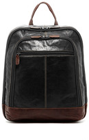 Jack Georges Voyager Genuine Buffalo Leather Backpack