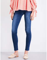 7 For All Mankind Slim Illusion super-skinny high-rise jeans