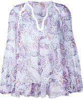 Giambattista Valli floral print blouse - women - Silk/Rayon - 42