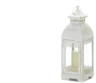 Overstock Antique White Lace Victorian Style Lantern