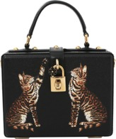 Dolce & Gabbana Cat Print Box Bag