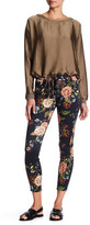 7 For All Mankind The Ankle Skinny Printed Jean