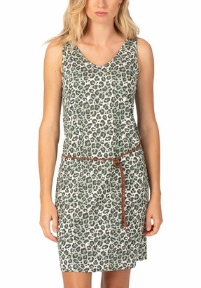 Timezone Women's Printed Jersey Dress