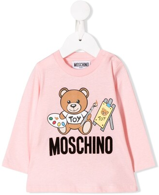 Moschino Kids artist teddy top