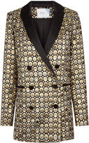 Racil Gold Jacquard Circle Aquila Jacket