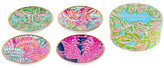 Lilly Pulitzer Ceramic Coasters - Set of 4