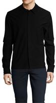 James Perse Stretch Textured Jersey Sportshirt