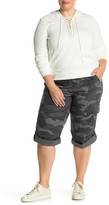 SUPPLIES BY UNION BAY Harriet Comfort Stretch Camo Roll-Up Capris (Plus Size)