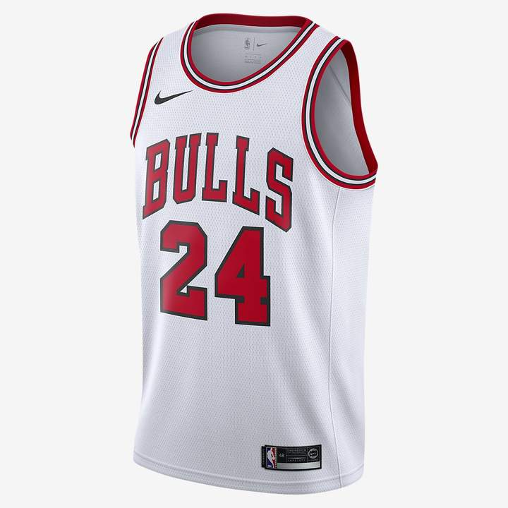 half off 206ad c990c Men's NBA Connected Jersey Lauri Markkanen Association Edition Swingman  (Chicago Bulls)