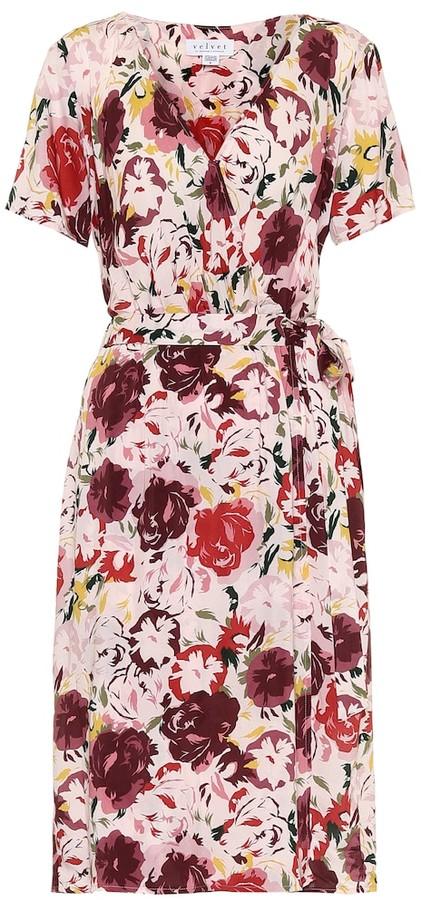 Velvet Exclusive to Mytheresa Rona floral wrap dress