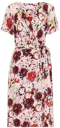 Velvet Exclusive to Mytheresa Rona floral wrap dress